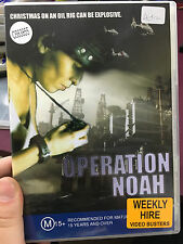 Operation Noah ex-rental DVD (RARE German action / thriller movie)