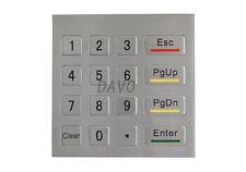 Matrix keypad waterproof industrial keyboard custom numeric keypad 4x4 keypads