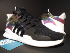 ADIDAS EQT SUPPORT ADV PRIDE PACK CORE BLACK WHITE PINK BLUE CM7800 NMD R1 5