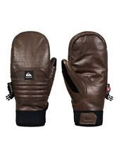2019 Nwt Mens Quiksilver Travis Rice Natural Gore Tex Mitts $130 L Otter