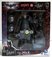 "In STOCK Medicom Batman Dark Knight ""Bank Robber Joker"" PX MAFEX Action Figure"