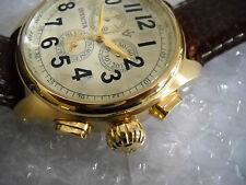 New Vintage INVICTA 5462 Quartz GMT Chronograph Watch with Box