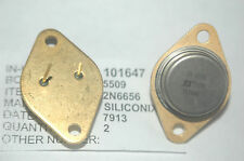 SILICONIX 2N6656 Gold Vintage Rare Transistor TO-3 New Quantity-1