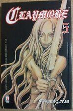 Claymore  5 di Norihiro Yagi ed.Star Comics sconto 10%