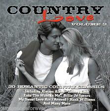 V/A - Country Love Volume 2 (UK 20 Track CD Album)