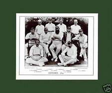 MOUNTED CRICKET TEAM PRINT - GENTLEMEN - 1894