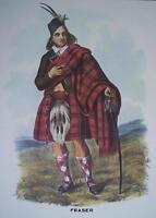 Clan Fraser - Scottish Tartan Art Print - MATTED