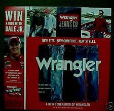 2006 Wrangler Jeans Mens Dale Earnhardt Jr. Fashion Ad