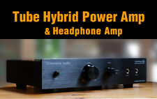 Maverick Audio A1 Tube Headphone Amplifier  & Hybrid Power  Amp & Tube Pre-Amp