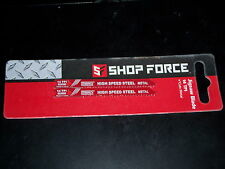 "NIP NEW Shop Force Jigsaw Blade 2 3/4"" 2pk 14 TPI Metal Cutting U Shank"