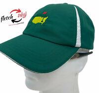 Masters Embroidered Unique Rare Golf Baseball Hat Cap Green White Stripes   Adj