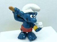 Smurfs Sauna Smurf Bath Soap Vintage Figure PVC Toy 1979 Figurine Peyo
