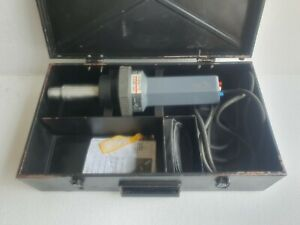 STEINEL HG 4000E Hot Air Gun, Plastic Welder, Shrink -Led Display 110 VAC-600C