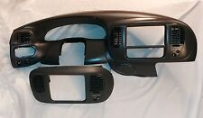 1997-2003 Ford F-150 Expedition 4 Piece Dash Cluster Bezel Radio Surround Gray