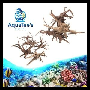 AquaTee's Driftwood Fish Tank Natural Wood Trunk Aquarium Decor Different Sizes