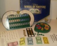 "Vintage 1986 ""DELUXE Wheel of Fortune"" Board Game by Pressman, 80's TV Game Show"