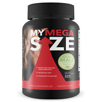 My Mega Size - Male Enhancement - Increase Size and Stamina - 60 capsules
