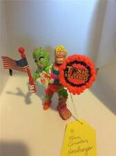 1991 Toxic Crusaders HeadBanger w/ Flag and Shield