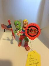 1991 Toxic Crusaders HeadBanger w/ Flag and Shield