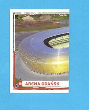 PANINI-EURO 2012-Figurina n.8- ARENA GDANSK SX -NEW-WHITE BOARD