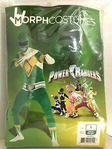 Power Rangers Green Morph Suit - Large Adult Costume