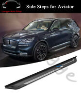 2PCS Running Board fits for Lincoln Aviator 2020 Side Step Nerf Bar Guards