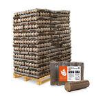 Holzbriketts Nestro Hartholz Rund Briketts Kamin Ofen 6kg x 162 972kg Palette