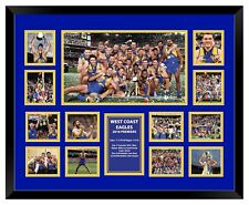 WEST COAST EAGLES PREMIERS 2018 FRAMED MEMORABILIA