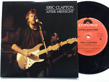 Eric Clapton, After Midnight  Like New Pc 45 RPM Record