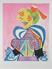 """L'Arlesienne"" from Marina Picasso Estate Ltd Edition of 500 Litho 29.5""x21.5"""