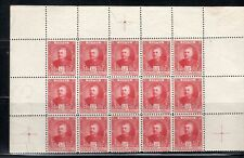 FRANCE EUROPE MONACO  STAMPS BLOCK MINT  HINGED PARTIAL SHEET  LOT 8032