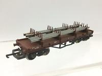 Lima 305630 OO Gauge BR Bolster Wagon B924162