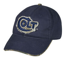 COLT firearms guns Navy Blue w/Realtree camo Hunting Tactical Shooting Hat