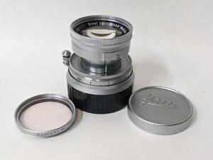 Leica M3 Ernst Leitz GmbH Wetzlar Summicron LENS 5cm 50mm F/2  CLA &  Tested