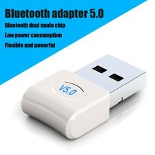 USB Bluetooth 5.0 Adapter Wireless Dongle Stereo Audio Receiver TransmitterPC