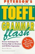 Peterson's Toefl Grammar Flash: The Quick Way to Build Grammar Power (-ExLibrary