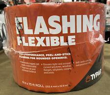 Typar Flexible Flashing (141888S) - 6in x 75ft Peel & Stick Window & Opening