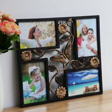 Large Leaf Wall Hanging Family Photo Frame Multi Picture Holder Butterfly