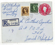 Ll272 1956 Gb Wildings Registered *Bodicote*Oxon Stationery Env{samwells-covers}