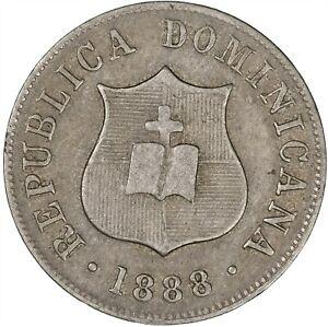 Dominican Republic 1888 2-1/2 Centavos VF