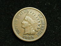 2020 SALE 1889 INDIAN HEAD CENT PENNY FULL LIBERTY * COLLECTIBLE COIN #40i