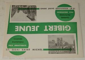 BUVARD GIBERT Jeune Cahiers Papeterie Prix Imbattables - Modèle en vert