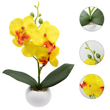 Simulation Silk Butterfly Orchids Artificial Flowers Fake Plants for Home Decor