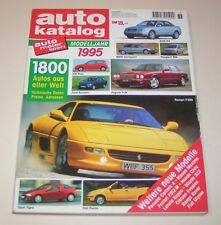 Catalogo Auto Anno Modello 1995 - No. 38 - Jaguar XJR, Peugeot 806, per Scorpio