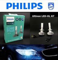 Genuine PHILIPS #11972ULX2 LED H7 6000K +160% Brighter Light Bulb x 2 #ewUK