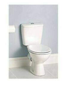 TOILET-TO-GO STANDARD CLOSE-COUPLED DUAL-FLUSH 6LTR -£65 COLLECTION FROM B19 1SU