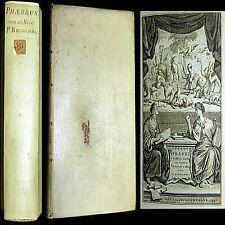 1778 AESOP FABLES GAIUS PHAEDRUS VELLUM ANIMALS MORALS MYTH PROVERBS NATURE BOOK