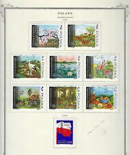 Poland.#1987-94 & 2010.Cto.1973.9 Diff Commemoratives