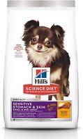 Dry Dog Food Adult,Small&Mini Breeds,Sensitive Stomach & Skin,Chicken Recipe 4LB