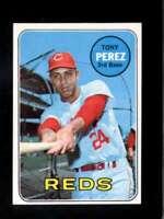 1969 TOPPS #295 TONY PEREZ NM REDS HOF  *XR23813